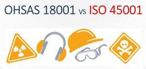 Chuyển đổi từ OHSAS 18001 sang ISO 45001
